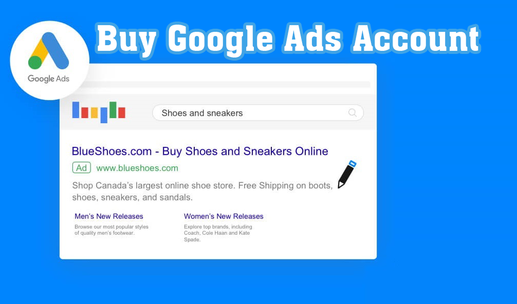 buy google ads account, google ads account, adwords accounts, buy adword account
