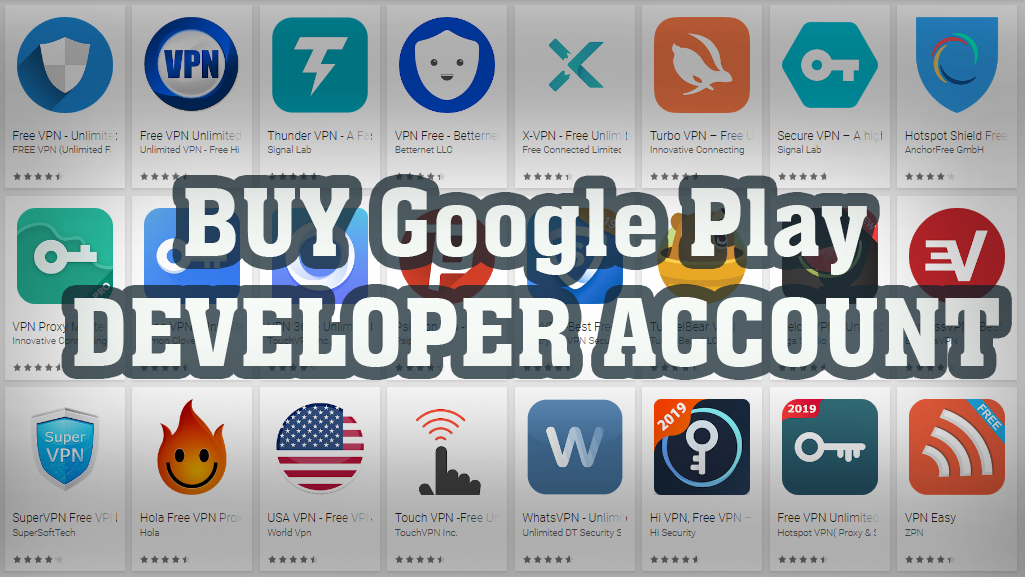 Google Play Developer Accounts,buy google play developer account, google play developer account