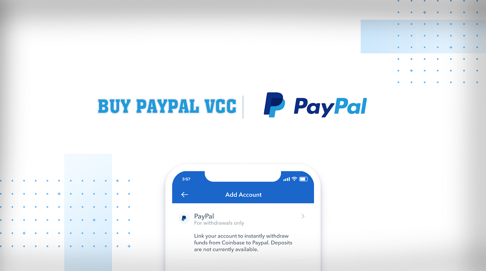 Buy Paypal VCC [Instant Verify Your Paypal Account]